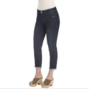 Democracy Ab Solution Crop Jean Ankle Skimmer New